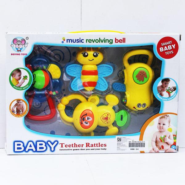 BABY TEETHER RATTLE ISI 4, teether