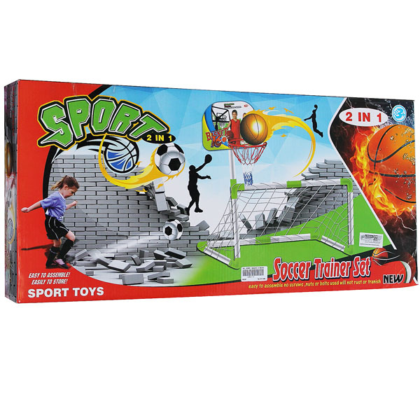 mainan anak, gawang , sepak bola , soccer ball