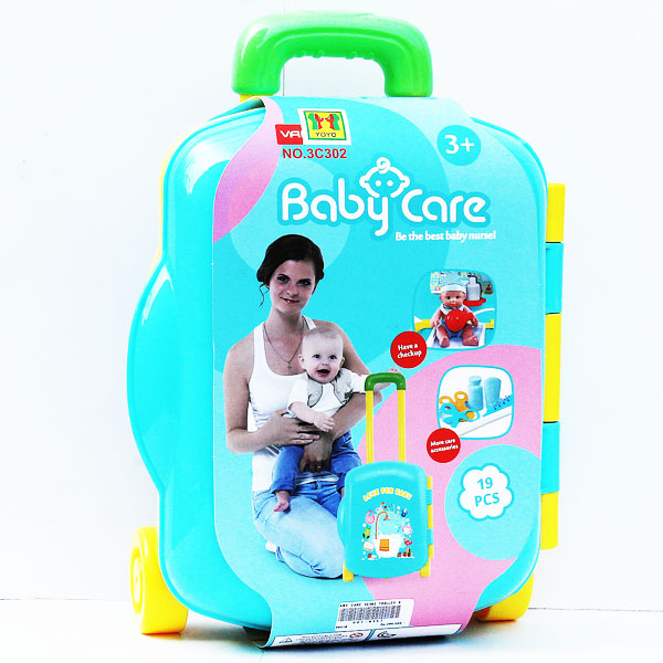 BABY CARE 3C302 TROLLEY KOPER