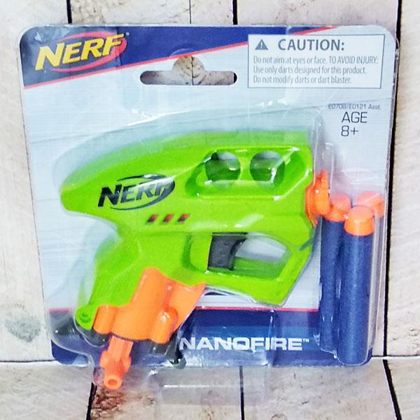 NERF NANOFIRE GREEN