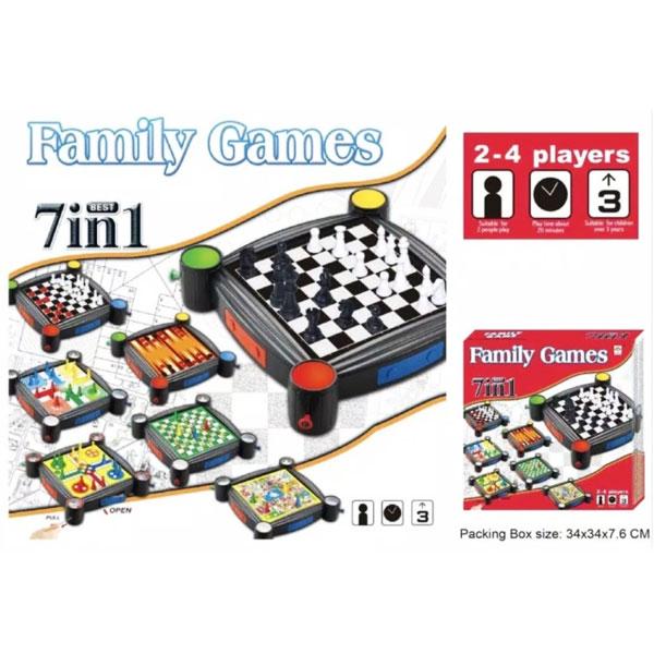FAMILY GAME 7IN1 BESAR , MAINAN FAMILY GAME , FAMILY GAMES MAINAN KELUARGA