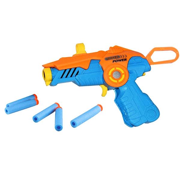 SOFT BULLET SHOOTING GAME , mainan tembakan softbullet , mainan anak softbullet cx624