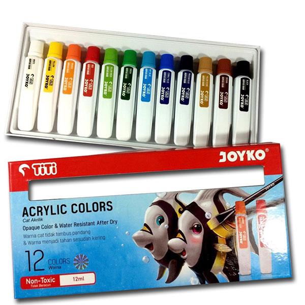 JOYKO ACRYLIC COLOR 12ML ISI 12 PCS