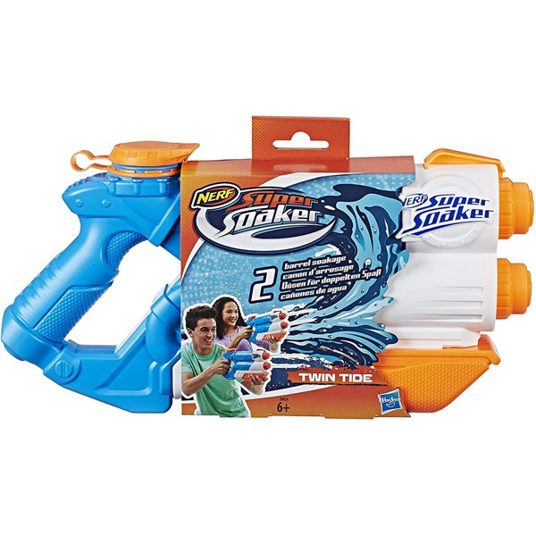 NERF SUPERSOAKER TWIN TIDE , NERF SUPERSOAKER