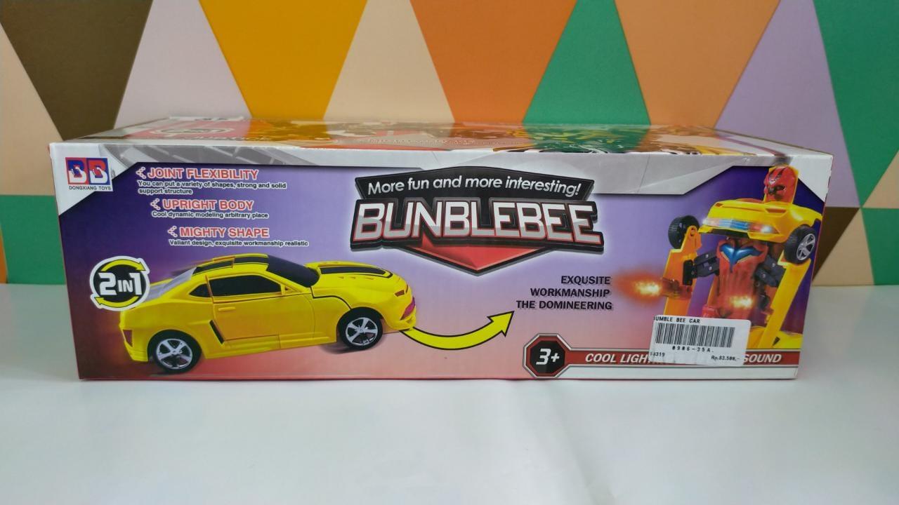 BUMBBLE BEE CAR