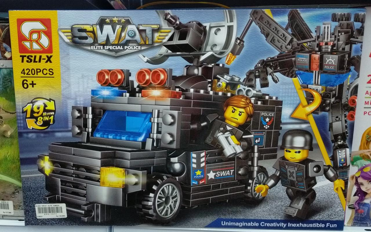 BLOCK SWAT ELITE 420PCS