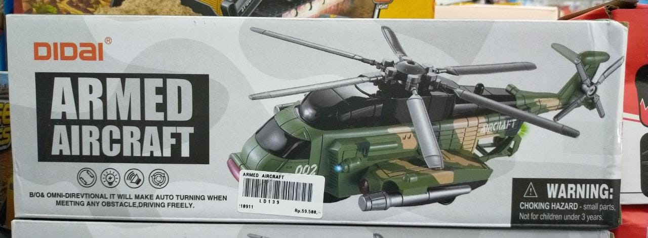 ARMED AIRCRAFT